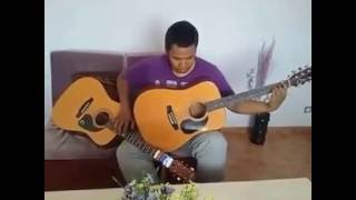 Afindrafindrao (Malagasy quadrille) - Tapping on two acoustic guitar in same time