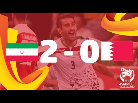 Iran vs Bahrain: AFC Asian Cup Australia 2015 (Match 6)