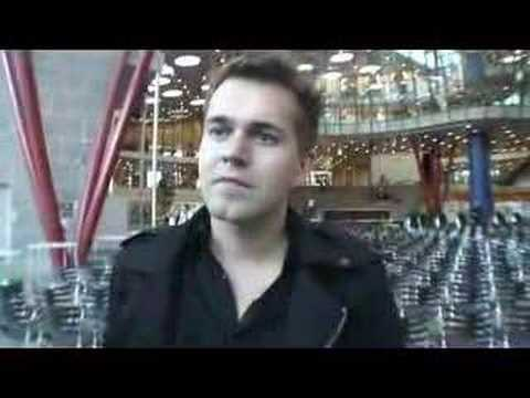 Interview med Mads Reinholdt (S) ved Nærum Gymnasium
