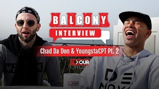 In part 2 of our sit down with chad da don and youngsta we talk him being mentioned on cassper's #thuto before freestyle airdee's beat box.