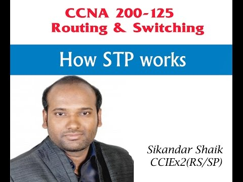 How STP works - Video By Sikandar Shaik || Dual CCIE (RS/SP) # 35012