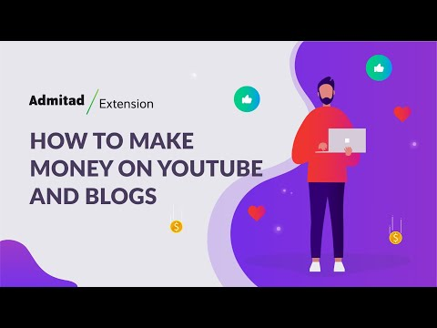 How to make money online with Admitad Extension