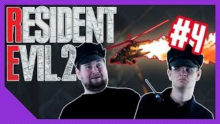 Helicopter Down! | Resident Evil 2 Playthrough #4