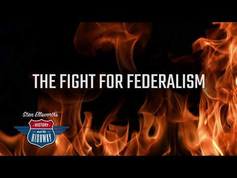 THE FIGHT FOR FEDERALISM- arguments for and against ratification of the Constitution
