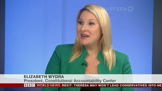 CAC's Wydra on BBC World News America on Cohen sentence, Butina plea