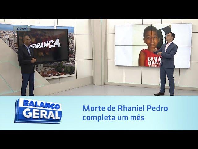 Sem respostas: Quem matou o menino? Morte de Rhaniel Pedro completa um mês