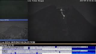 Volcano Merapi - 18/09 3:23 WIB