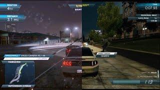 PS3 - PS Vita - iPhone - NFS Most Wanted comparação. BR