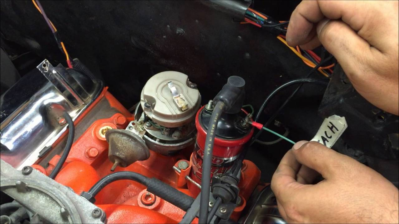 gm points style ignition distributor how to wire and run diy [ 1280 x 720 Pixel ]