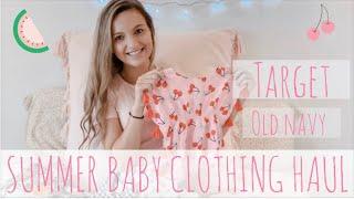 6a9aa5152ba5 BABY GIRL SUMMER CLOTHING HAUL// TARGET & OLD NAVY SUMMER HAUL//