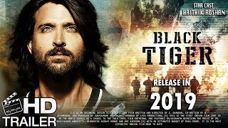 Black Tiger Movie | Fan Made Trailer | Hritik Roshan Upcoming Movie | Indian Raw Agent Movie