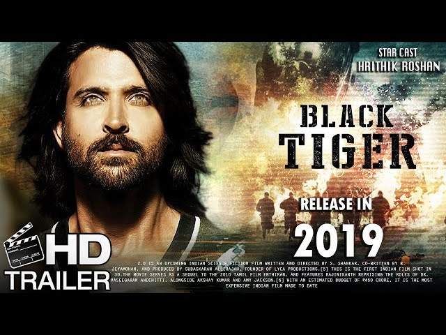 Black Tiger Movie | Fan Made Trailer | Hritik Roshan Upcoming Movie | Indian Raw Agent Movie
