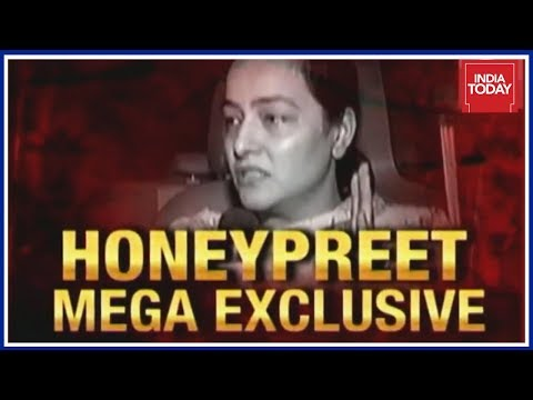 Honeypreet Insan Exclusive Interview To India Today