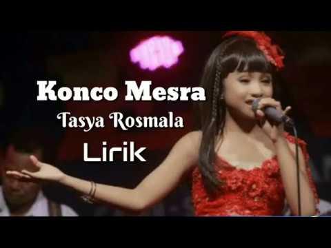 Konco mesra - Tasya Rosmala ( Lirik )