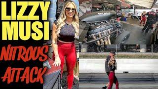Lizzy Musi Nitrous Attack!!!