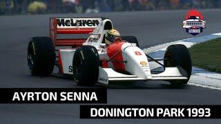 LA MAGIA DE AYRTON SENNA EN EL GP DE EUROPA DE 1993