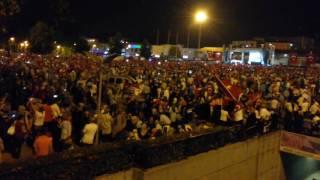 Sakarya kent Meydanı Saha Kalktı Darbeye Hayır
