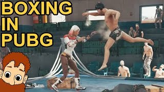 BOXING IN PUBG - 50 PEOPLE / PUBG Xbox One X