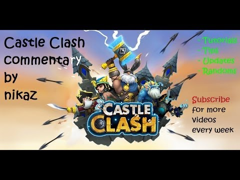Castle Clash - 3 Here Be Monster Attempts (Wave E)