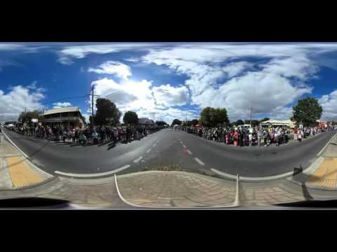 2016 Ballan Farmers Market Grande Street Parade 360 video