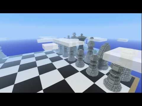 Minecraft - Giant Chess Set (Board + Pieces)