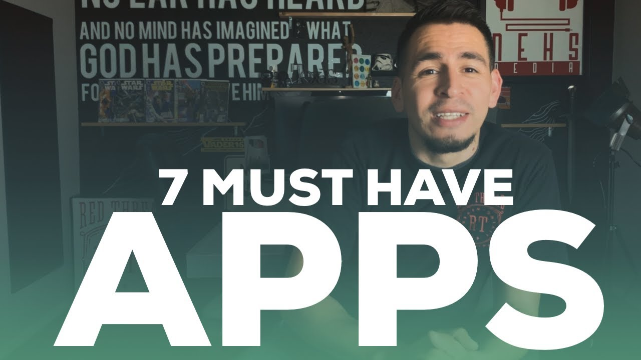 Top 7 iOS Apps to download to you iPad or Iphone image