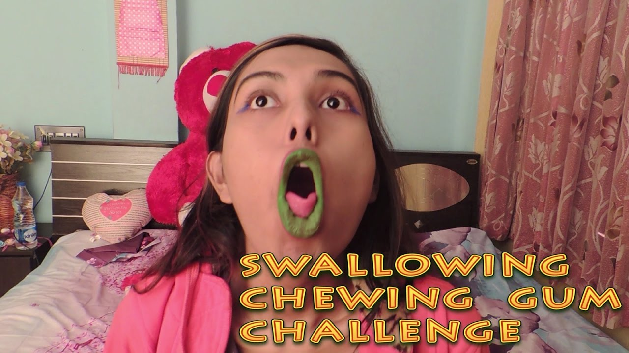 What actually happens when you swallow a chewing gum