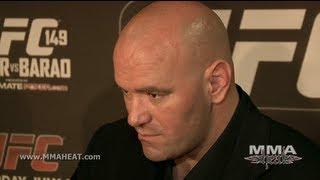 UFC 149: Dana White Blasts Refs, Praises Herb Dean + Wonders How Mazzagatti Still Has A Job