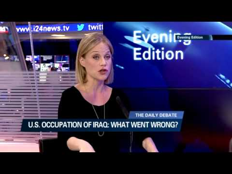 Yael Lavie talking about tenth anniversary of Sadaam Hussein capture