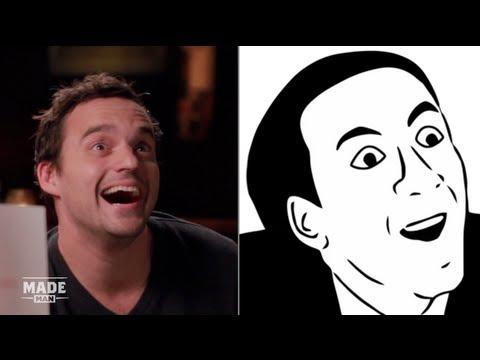 Jake Johnson Imitates Popular Internet Memes  Speakeasy