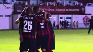 Vitória 3 x 0 Flamengo de Guanambi   Gol de Kieza