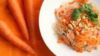 Thai Carrot Noodle Salad Recipe