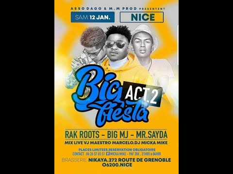 Mr SAYDA   RAK ROOTS   BIG MJ à Nice 2019