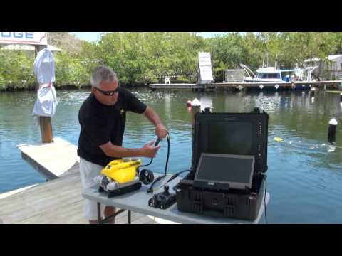 VideoRay Basic Training Video #4 - Connecting the VideoRay Pro 4 ROV Components