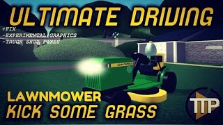 Roblox Ultimate Driving - NUEVO Cortacésped (Kicking Some Grass) +FIX