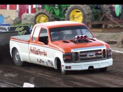 2016 Two Wheel Drive Tractor Pulls in Ballston Spa New York Saratoga County Fair