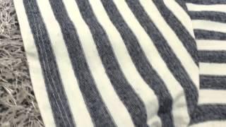산드로 스타일 단가라 멜란지 반팔티셔츠 그레이 구매후기