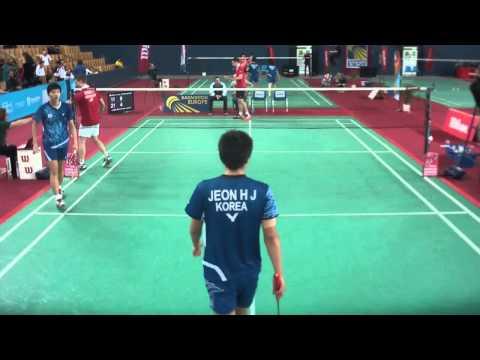 TV Court GJ2013 // Hyuk Jin Jeon & Seung Jae Seo vs. Mark Byerly & Mark Lamsfuß (2nd set)