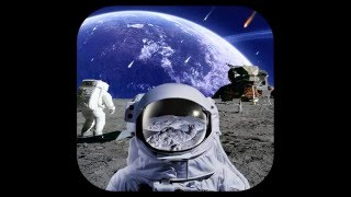 Astronaut Live Wallpaper Parallax in Galaxy