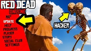 BEWARE OF HACKERS in Red Dead Online! *MUST WATCH*  RDR2 Mods & Exploits