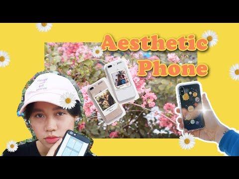✨CÁCH LÀM CHO ĐIỆN THOẠI ĐẬM CHẤT AESTHETIC HƠN ✨ I How to have an Aeshetic phone? I