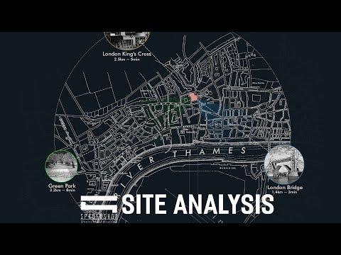 Site Analysis Diagram Architecture - Photoshop Architecture