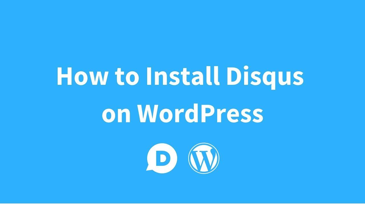 Disqus Comment System – WordPress plugin | WordPress org