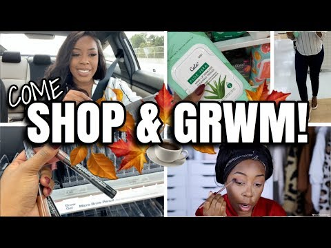 COME SHOP & GET READY WITH ME!! | TARGET RUN, STARBUCKS FAIL, MAKEUP HAUL + MORE! | Andrea Renee thumbnail