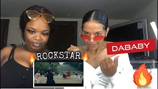 DaBaby- Rockstar Feat. Roddy Ricch ( Official Music Video )  ! REACTION !