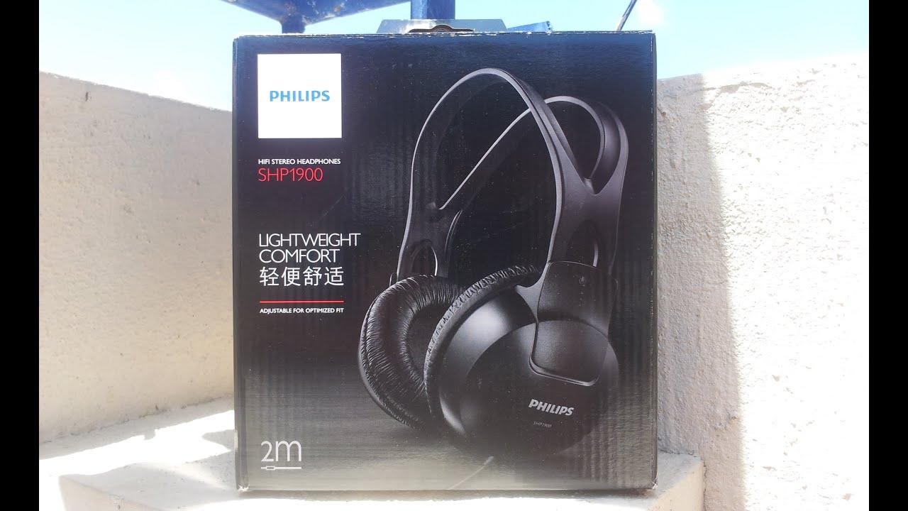 Philips SHP1900 97 Over-Ear Stereo Headphone (Black) - YouTube ae5484725e
