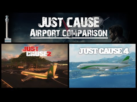 Just Cause 2 & Just Cause 4 Airport Comparison