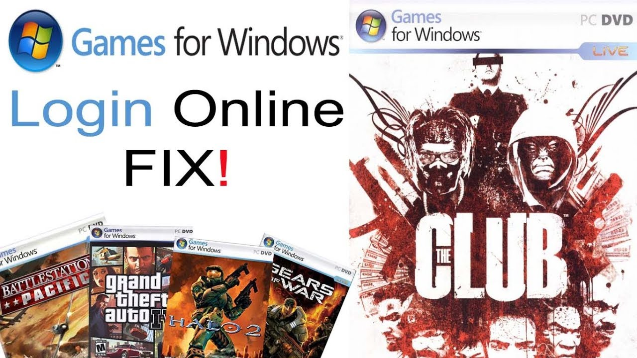 Game For Windows Live Login