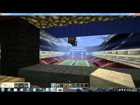Gillette Stadium (Minecraft Megabuild)