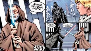How Vader Discovered Why Obi-Wan Sacrificed Himself at the End of their Duel in Episode 4! (Legends)